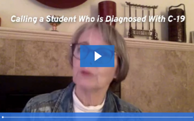 Calling a Student Diagnosed with COVID-19